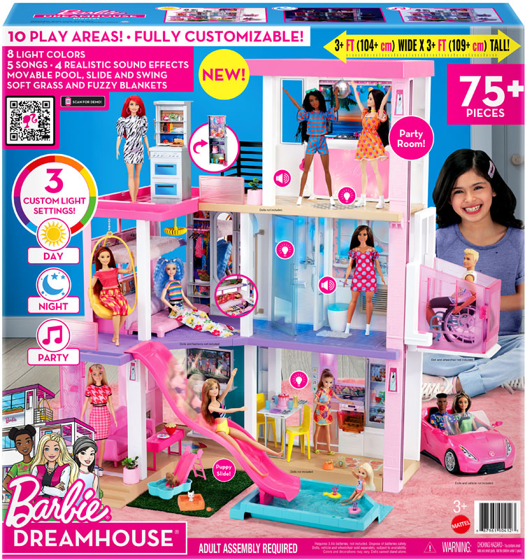 Wholesalers of Barbie Dream House toys