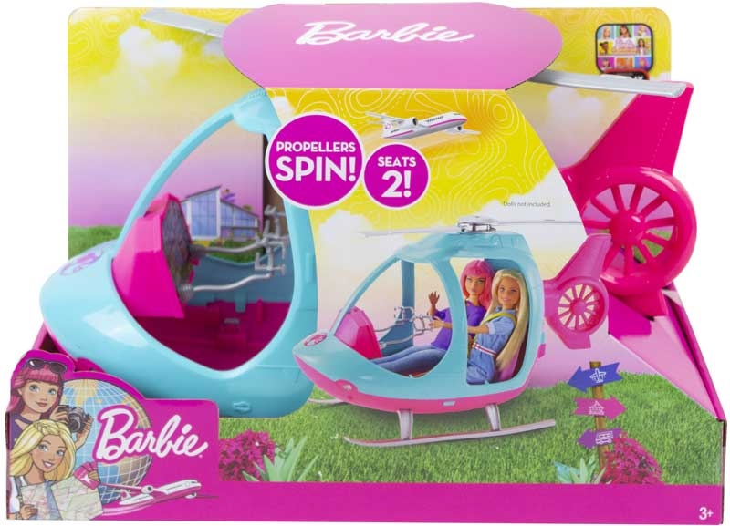 Wholesalers of Barbie Dreamhouse Adventures Helicopter toys