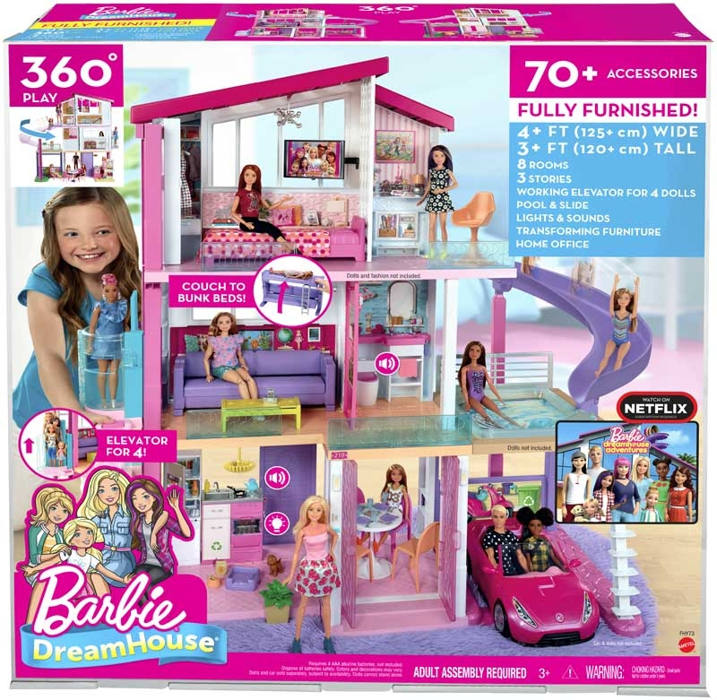 Wholesalers of Barbie Dreamhouse toys