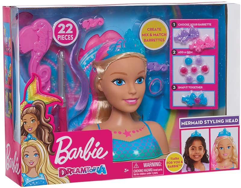 Wholesalers of Barbie Dreamtopia - Mermaid Large Styling Head toys