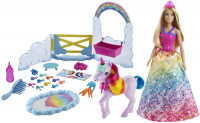 Wholesalers of Barbie Dreamtopia Doll And Unicorn toys image 2