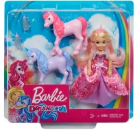 Wholesalers of Barbie Dreamtopia Doll And Unicorns toys image