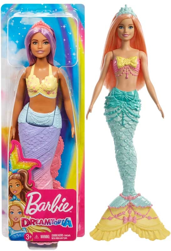 Wholesalers of Barbie Dreamtopia Mermaid Asst toys