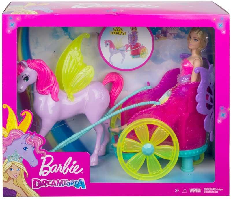 Wholesalers of Barbie Dreamtopia Princess - Pegasus & Chariot toys