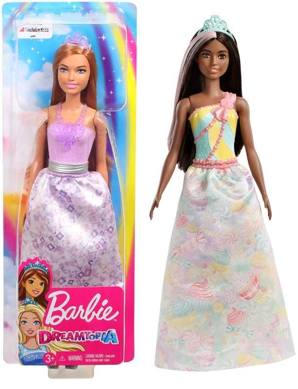 Wholesalers of Barbie Dreamtopia Princesses Asst toys