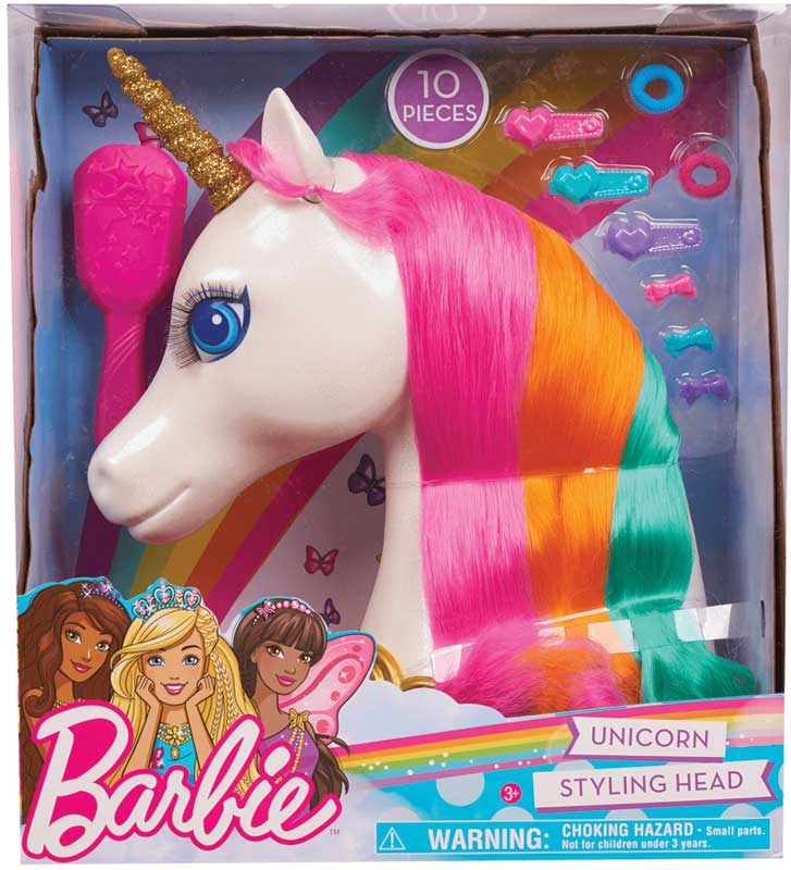 Wholesalers of Barbie Dreamtopia Unicorn Styling Head toys