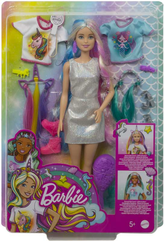 Wholesalers of Barbie Fantasy Hair Doll toys