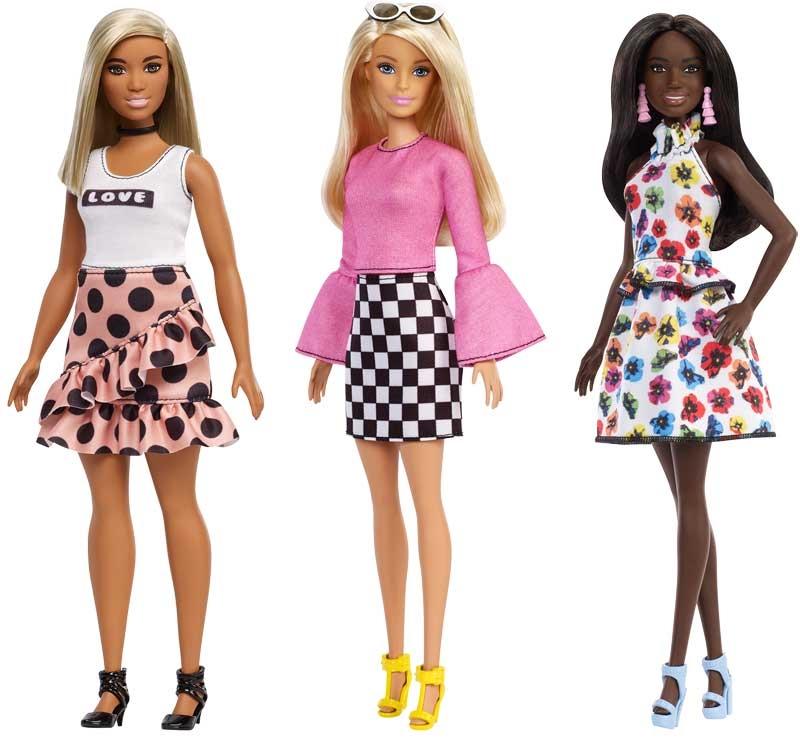 Wholesalers of Barbie Fashionistas Asst toys