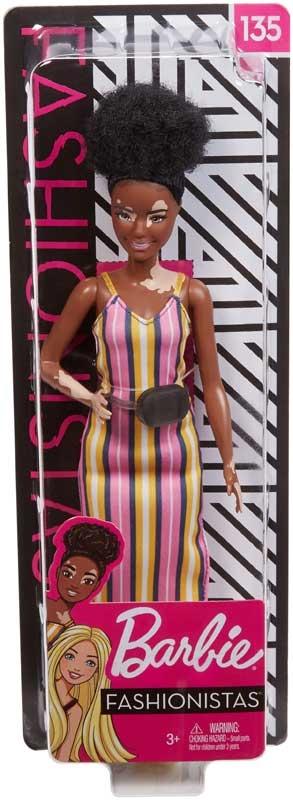 Wholesalers of Barbie Fashionistas Doll 135 Vitaligo toys