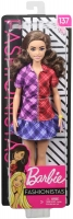 Wholesalers of Barbie Fashionistas Doll 137 Checkered Dress toys image