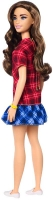 Wholesalers of Barbie Fashionistas Doll 137 Checkered Dress toys image 2
