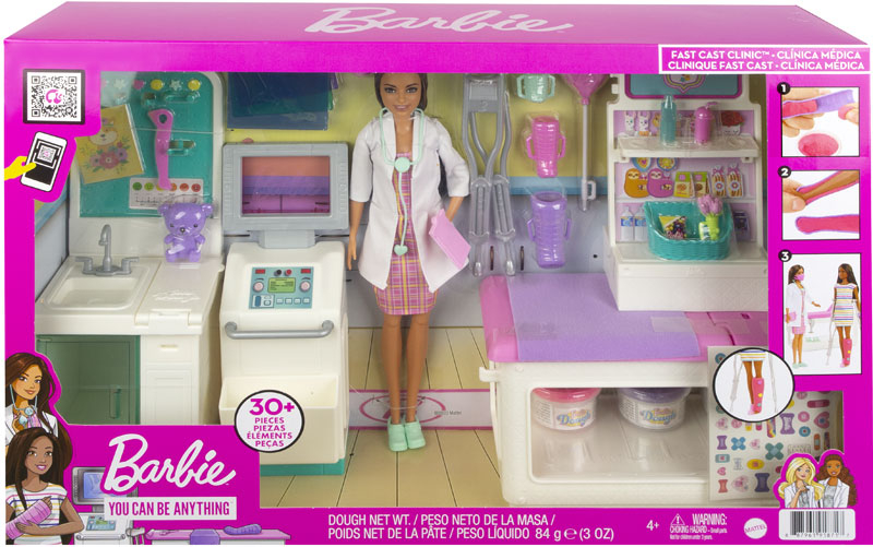 Wholesalers of Barbie Fast Cast Clinic Playset toys