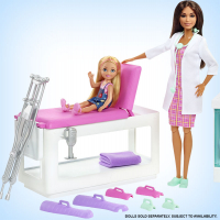 Wholesalers of Barbie Fast Cast Clinic Playset toys image 4
