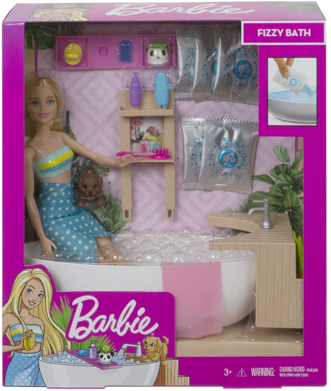 Wholesalers of Barbie Fizzy Bath Doll And Play Set toys