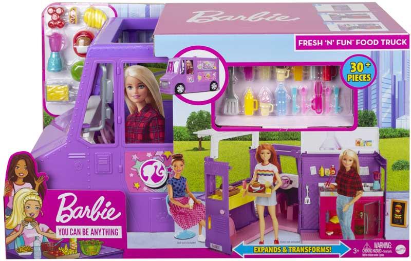 Wholesalers of Barbie Food Truck toys