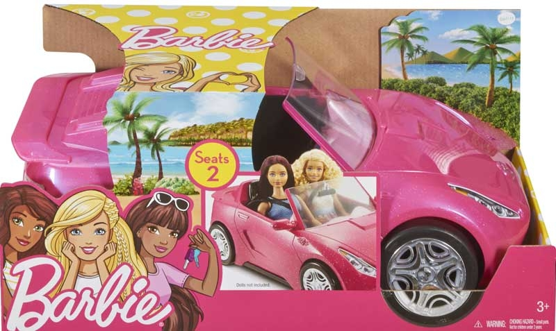 Wholesalers of Barbie Glam Convertible toys