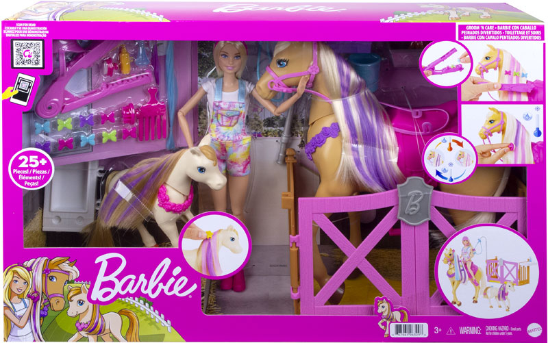 Wholesalers of Barbie Groom N Care Doll | Horses And Playset toys