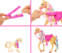 Wholesalers of Barbie Groom N Care Doll | Horses And Playset toys image 4