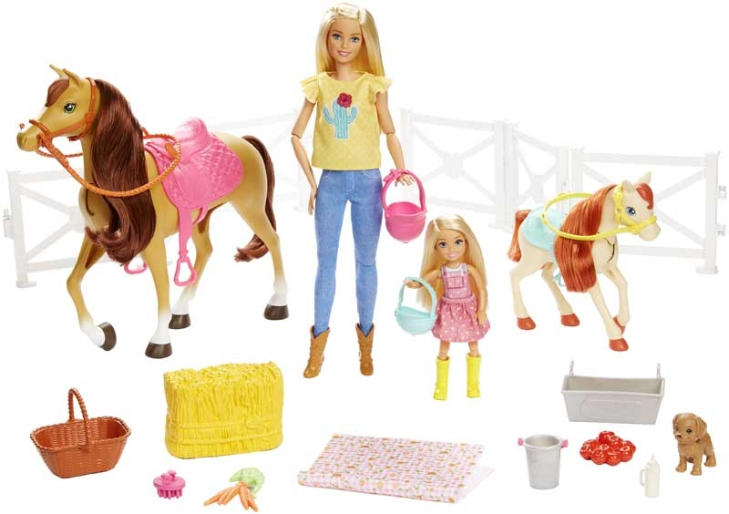 Wholesalers of Barbie Hugs N Horses toys