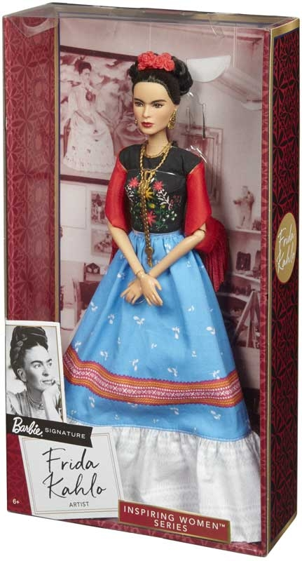 Wholesalers of Barbie Inspiring Women Doll 1 - Frida Khalo toys