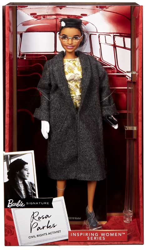 Wholesalers of Barbie Inspiring Women Doll 1 - Rosa Parks toys