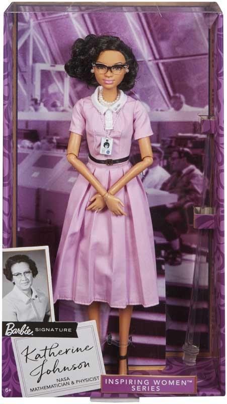 Wholesalers of Barbie Inspiring Women Doll 2 - Katherine Johnson toys
