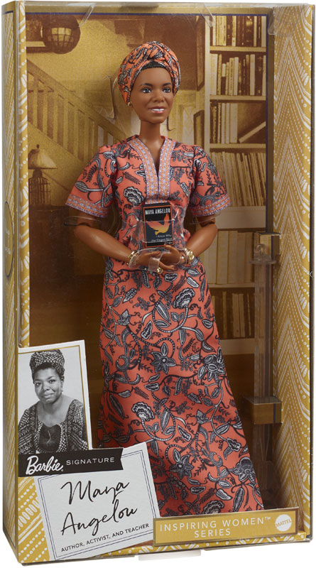 Wholesalers of Barbie Inspiring Women Maya Angelou toys