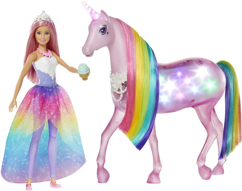 Wholesalers of Barbie Magic Touch Unicorn And Doll toys