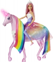Wholesalers of Barbie Magic Touch Unicorn And Doll toys image 2