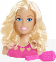 Wholesalers of Barbie Mini Blonde Styling Head toys image 2