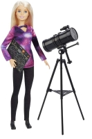 Wholesalers of Barbie National Geographic Astromomer Doll toys image