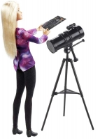 Wholesalers of Barbie National Geographic Astromomer Doll toys image 2