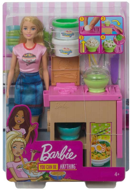 Wholesalers of Barbie Noodle Maker Doll And Playset toys