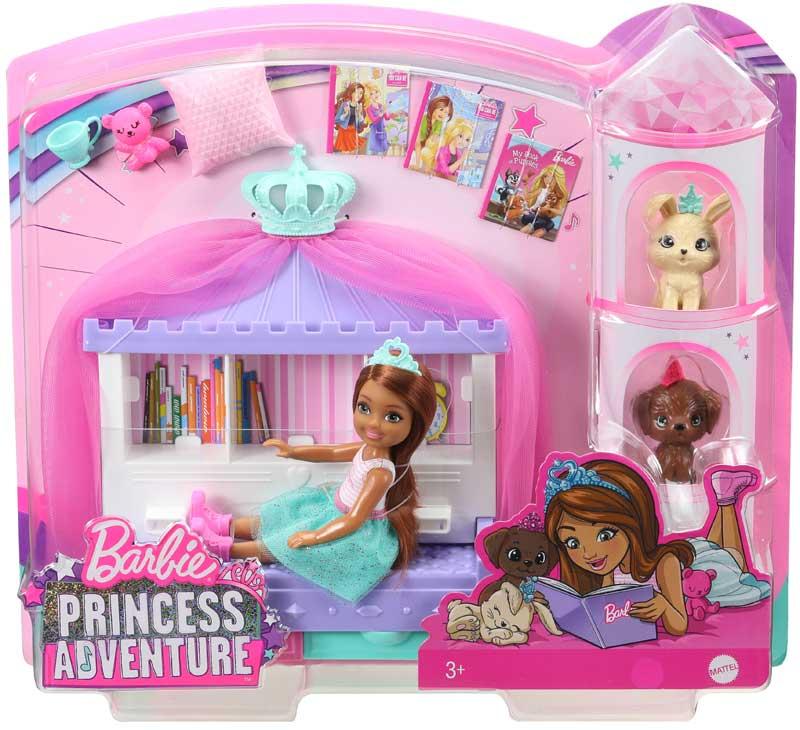 Wholesalers of Barbie Princess Adventure Chelsea Play Set toys