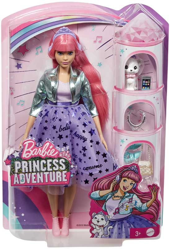 Wholesalers of Barbie Princess Adventure Daisy toys