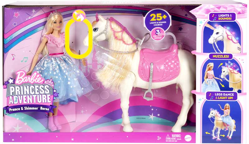 Wholesalers of Barbie Princess Adventure Feature Horse toys