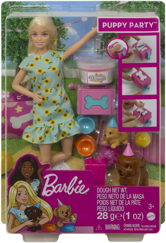 Wholesalers of Barbie Puppy Party toys