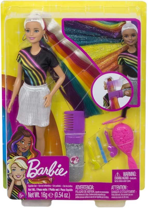 Wholesalers of Barbie Rainbow Sparkle Style toys