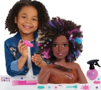 Wholesalers of Barbie Sparkle Deluxe Styling Head - Afro Hair toys image 3