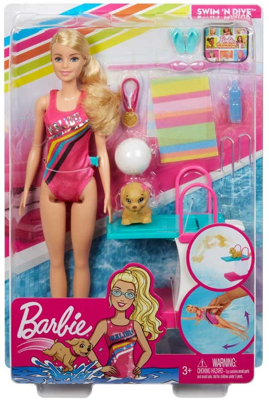 Wholesalers of Barbie Swim N Dive Doll And Accessories toys