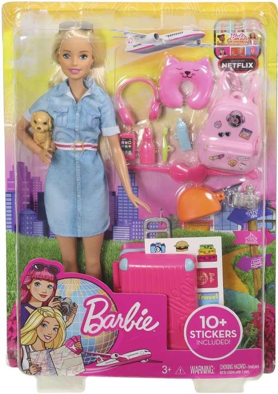 Wholesalers of Barbie Travel Barbie Lead Doll toys