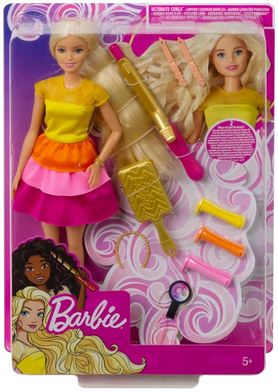 Wholesalers of Barbie Ultimate Curls Doll And Playset toys