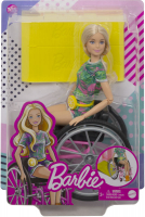 Wholesalers of Barbie Wheelchair Doll Blonde toys image