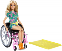 Wholesalers of Barbie Wheelchair Doll Blonde toys image 2