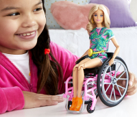 Wholesalers of Barbie Wheelchair Doll Blonde toys image 3