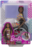 Wholesalers of Barbie Wheelchair Doll Brunette toys image