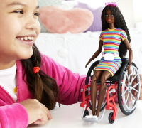 Wholesalers of Barbie Wheelchair Doll Brunette toys image 3