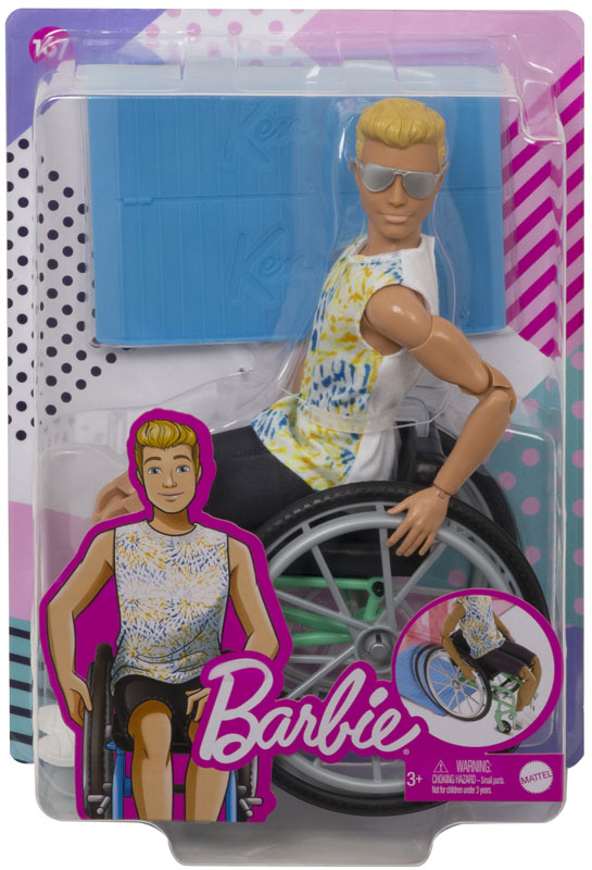 Wholesalers of Barbie Wheelchair Ken Doll toys