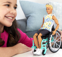 Wholesalers of Barbie Wheelchair Ken Doll toys image 3