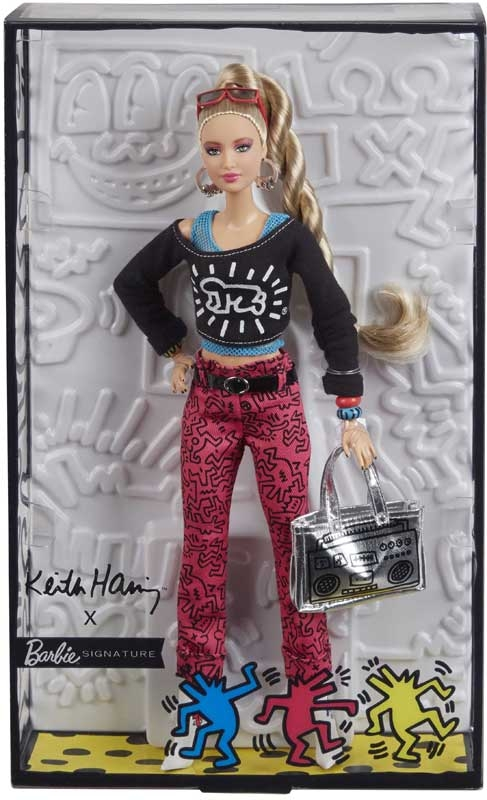 Wholesalers of Barbie X Keith Haring Doll toys